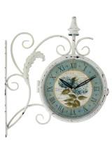 Арт часовник с две лица стенен